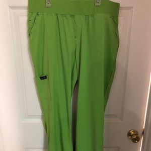 Koi lime green scrub pants. Never worn. Size large